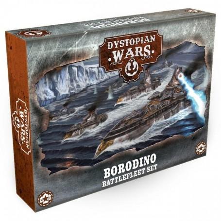 Dystopian Wars - Borodino Battlefleet Set VF