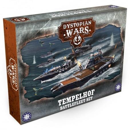 Dystopian Wars - Tempelhof Battlefleet Set VF