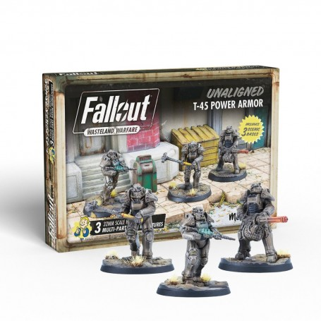 Fallout: Unaligned: T-45 Power Armour