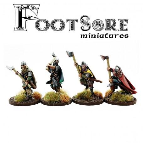Late Saxon Huscarls with Dane Axes