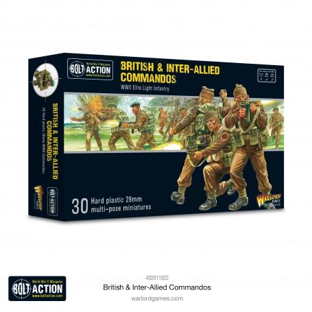 PRE ORDER - Bolt Action - British & Inter-Allied Commandos