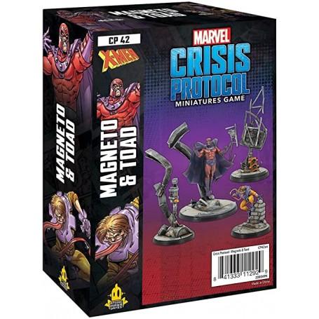 Marvel Crisis Protocol - Magneto et Toad