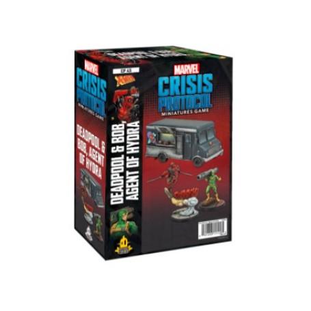 Marvel Crisis Protocol - Deadpool and Bob Agent of Hydra