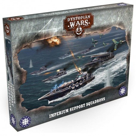 Dystopian Wars - Imperium Support Squadrons VF