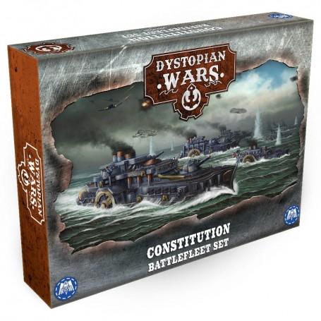 Dystopian Wars - Constitution Battlefleet Set