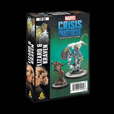 Marvel Crisis Protocol - Lizard and Craven
