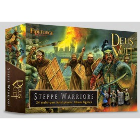 Steppe Warriors (24 Infantry Figurines Plastiques)