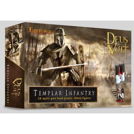 Templar Infantry (24 Infantry Figurines Plastiques)