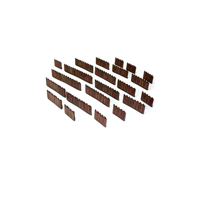 Village Wooden Fences, 4Ground