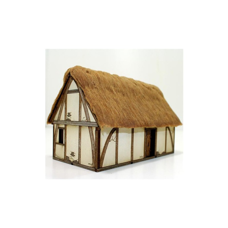 Saxon Dwelling, 4Ground