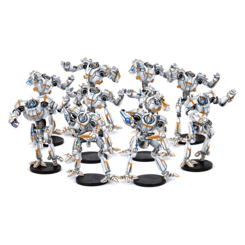 Chromium Chargers Robot Team (10 Players)