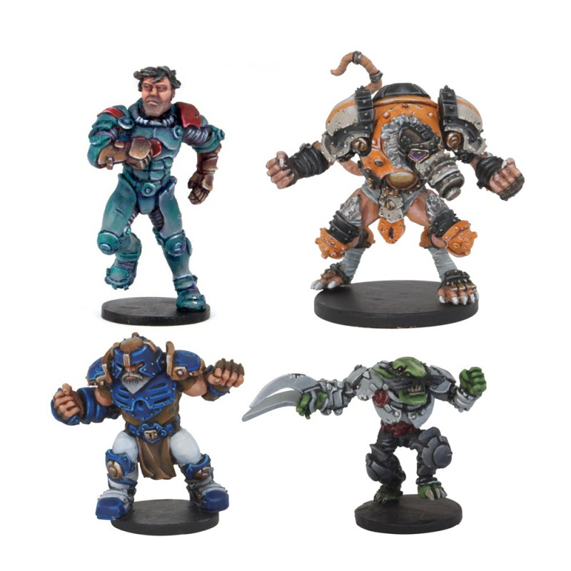 Megaball Veterans - All-Stars Mvp Pack (4 Figures)