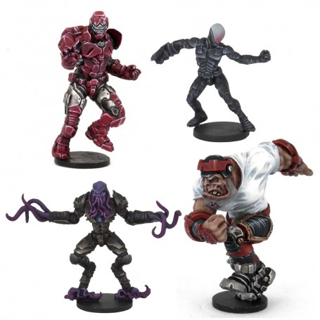Mazon Corp Crowdpleasers - All-Stars Mvp Pack (4 Figures)