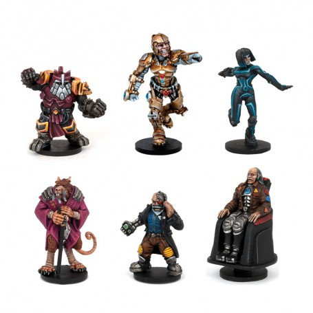 Blastball Survivors - All-Stars Mvp Pack (6 Figures)