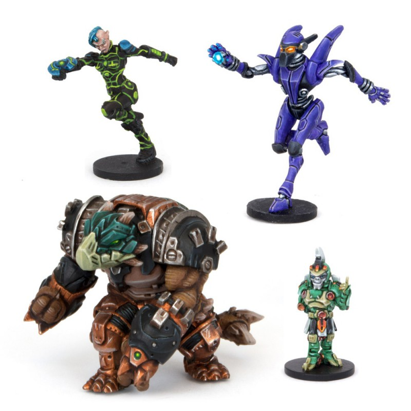 Intergalactic Overlords - All-Stars Mvp Pack (4 Figures)
