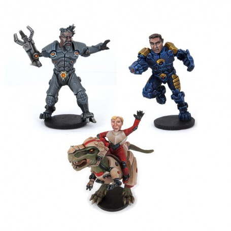 Manticorp Showboaters - All-Stars Mvp Pack (3 Figures)