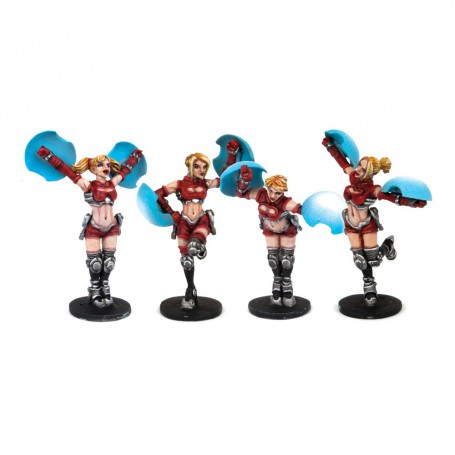 Dreadball Cheerleaders (4 Models)