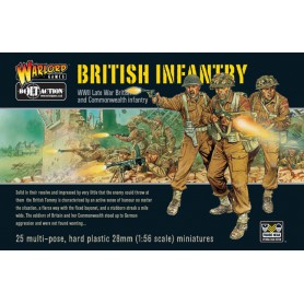 British Infantry (25), Bolt Action