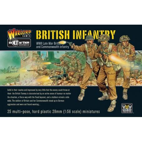 British Infantry (25), Bolt Action