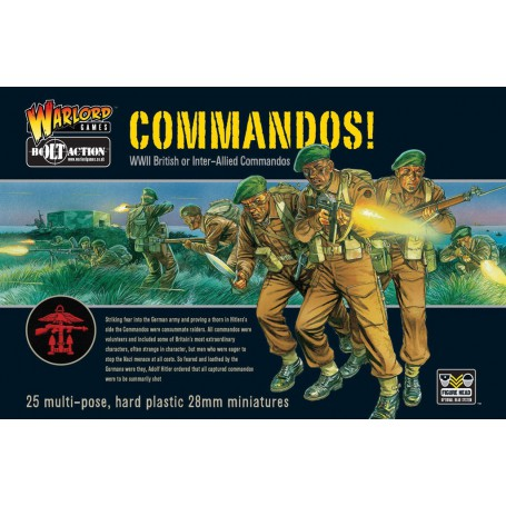 Commandos! (25), Bolt Action