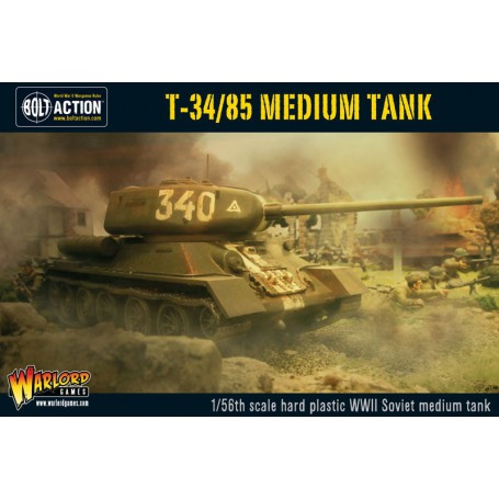 T34/85 Soviet Medium Tank, Bolt Action
