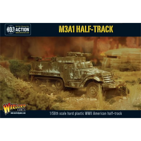 M3A1 Halftrack, Bolt Action