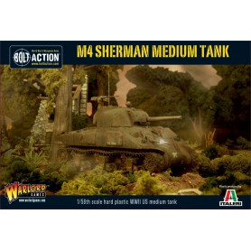 M4 Sherman (75) Plastic Boxed Set, Bolt Action