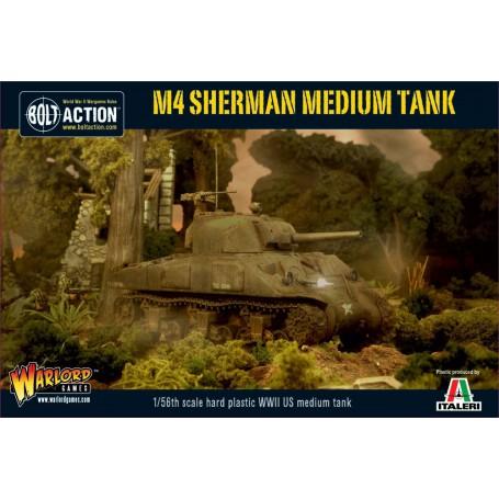 M4 Sherman (75) plastic boxed set, Bolt Action