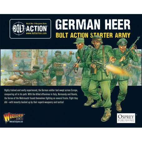 Bolt Action Starter Army - German, Bolt Action