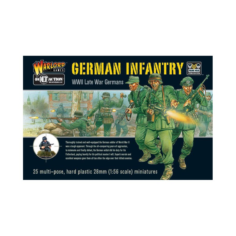 German Infantry (25) , Bolt Action, Bolt Action