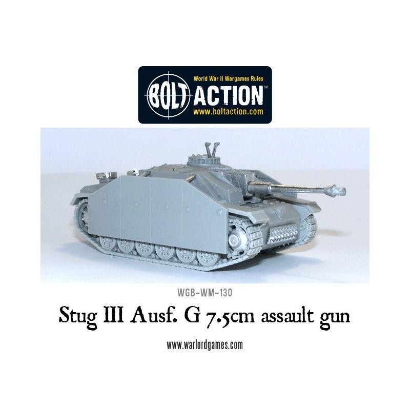 Stug III ausf G , Bolt Action, Bolt Action