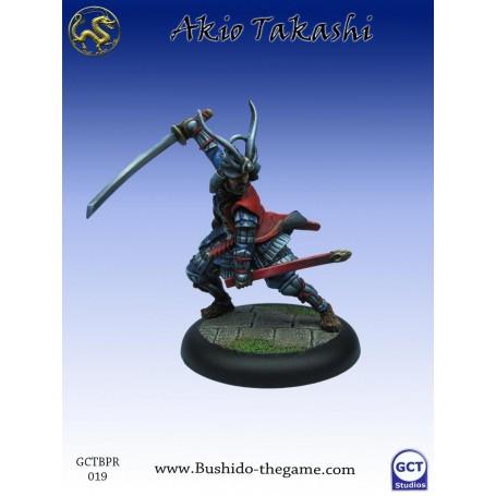 Akio Takashi, Eccentric Samurai