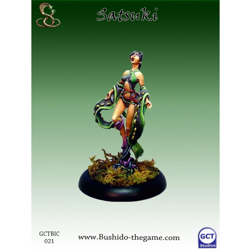 Satsuki, Orochi Priestess, Ito Clan, Bushido