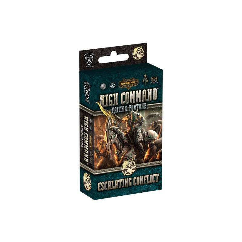 WARMACHINE High Command Faith & Fortune: Escalating Conflict Expansion