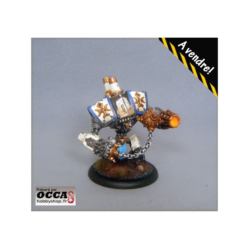 Vanquisher n°1, protectorate of menoth,peint, painted