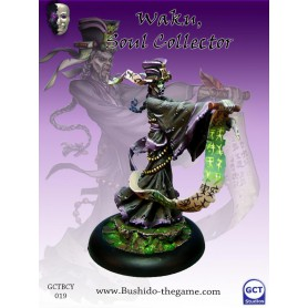 Waku, Soul Collector, Cult Of Yurei,Bushido