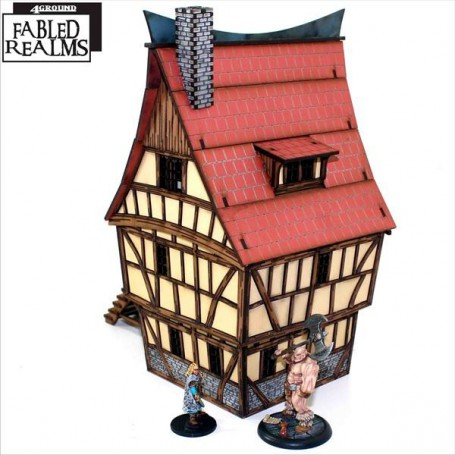 Mordanburg Highstreet House 1, 4Ground Fabled Realms