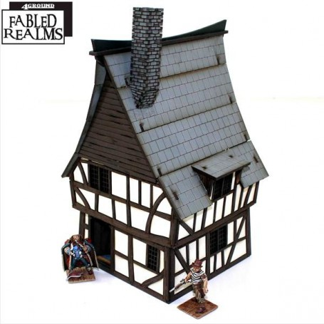 Mordanburg Highstreet House 3, 4Ground Fabled Realms