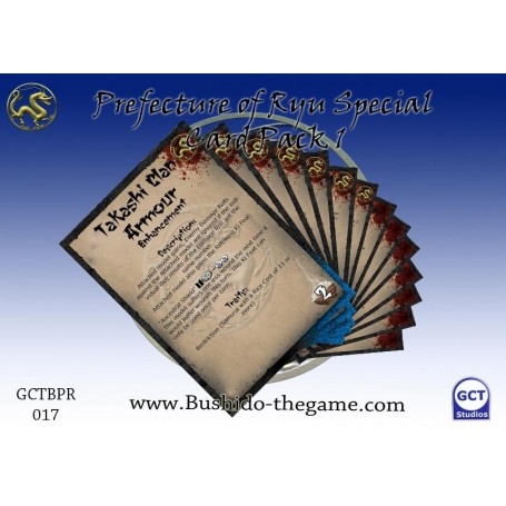 Prefecture of Ryu Card Pack 1