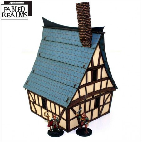 Mordanburg Highstreet House 4, 4Ground Fabled Realms