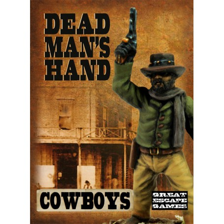 Dead Man's Hand Cowboys, par Great Escape Games