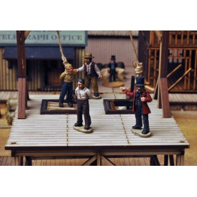 Dead Man'S Hand Gallows Figure Set