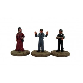 Dead Man'S Hand Civilian Bank Figure Set