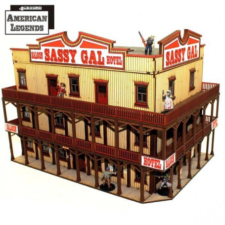 Dead Man'S Hand 'The Sassy Gal Saloon'