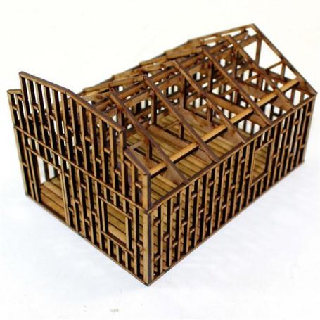 Bâtiment en construction 1 (un niveau)