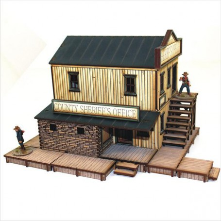 Dead Man'S Hand Feature Building 2 Sheriff'S Office