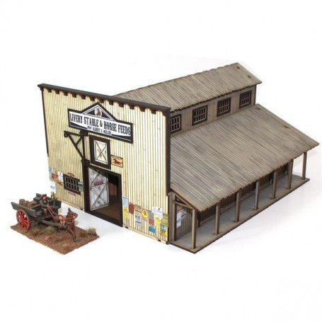 Dead Man'S Hand Feature Building 6: Miller'S Livery Stable