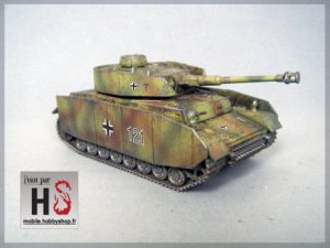 TUTORIEL- Peindre un Panzer IV Rubicon pour Bolt Action.