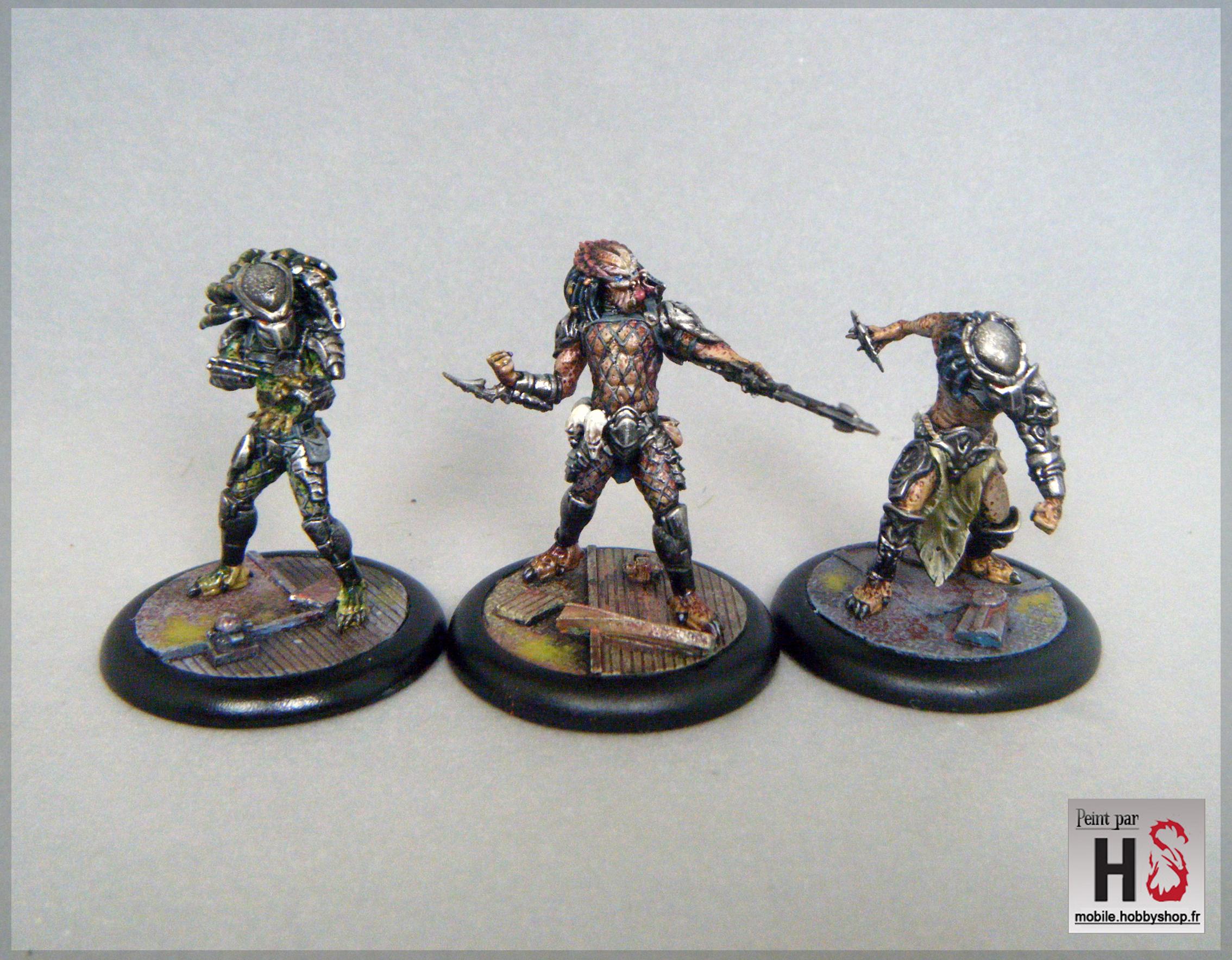 Predators peints d'Alien versus Predator de Prodos Games
