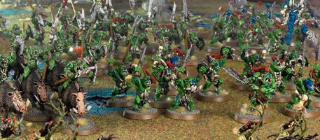Armée de Bonesplitterz prête au combat